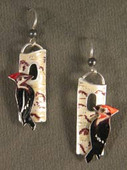 Pileated Woodpecker Earrings
