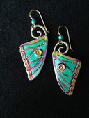 Spanish Moon Moth Earrings
