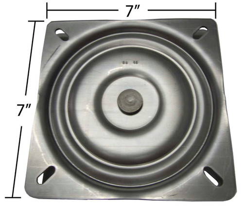 Replacement Bar Stool Swivel Plate - 7  Square - Flat Profile - S4697  sc 1 st  Chairpartsonline & Replacement Flat Bar Stool Swivel Plate - 7