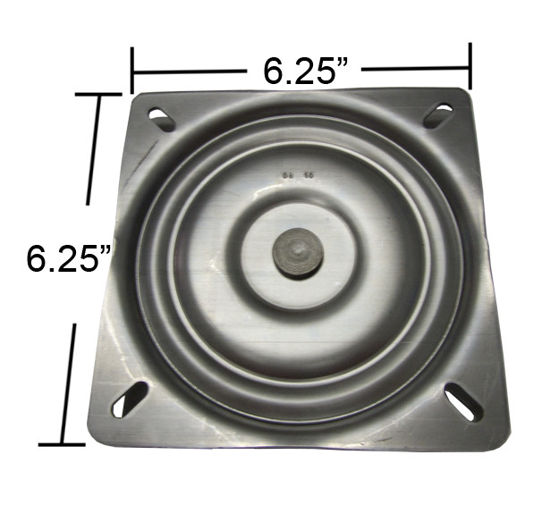 Replacement Flat Bar Stool Swivel Plate 6 25 Quot Square S4695