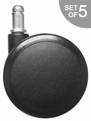 "Extra Large 3"" Hard Floor Chair Caster Replacement - S5111"