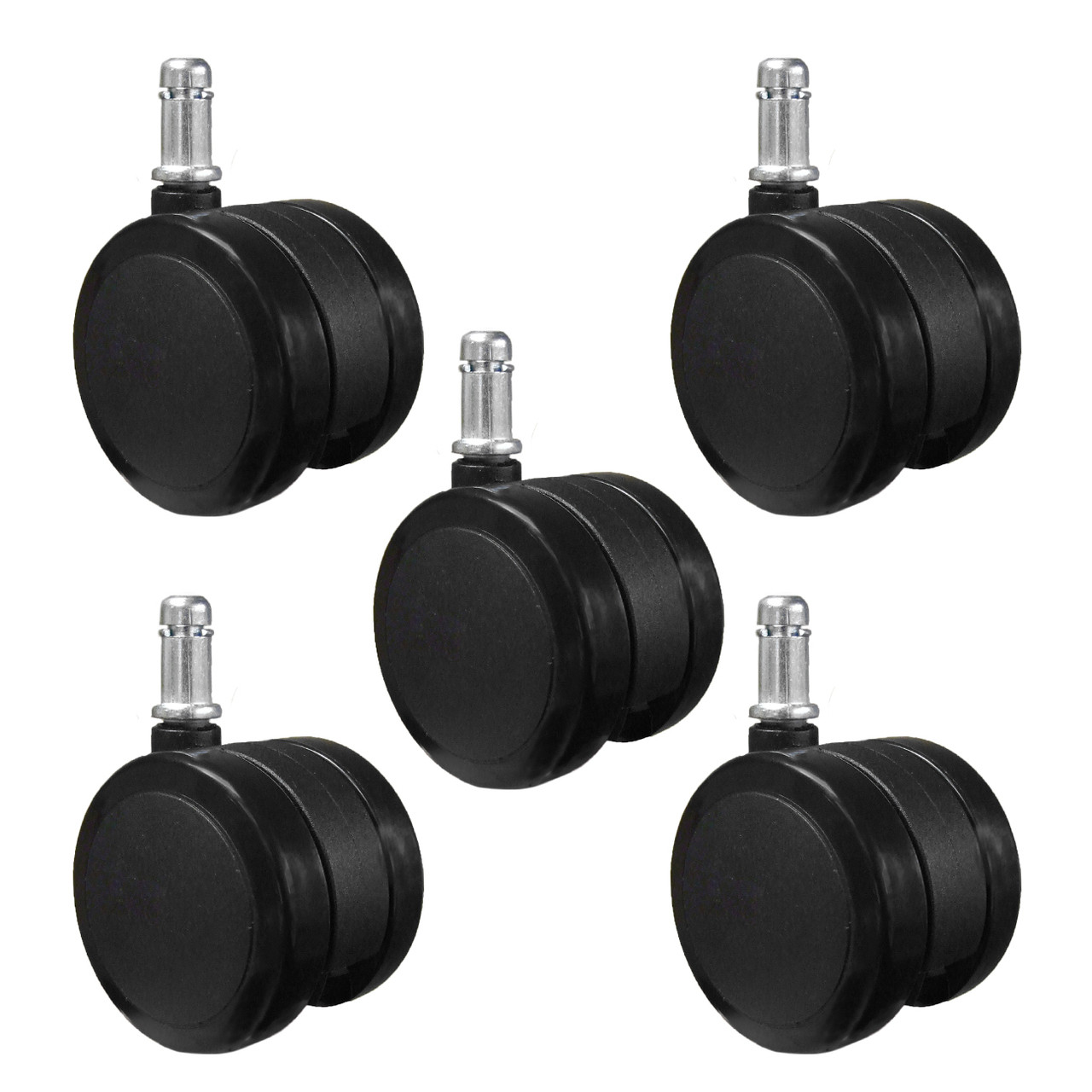 Replacement Hard Floor Casters Fit Herman Miller Aeron Chair