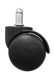 "2"" Standard Office Chair Caster Wheels - SINGLE CASTER"