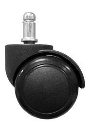 "2"" Replacement Hard Floor Swivel Task Chair Caster - SINGLE CASTER - S2986"