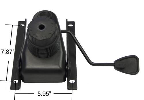 "Replacement Office Chair Knee Tilt Mechanism - 6"" x 8"" Mounting - S4388"