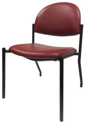 Side guest chair for waiting room, medical, office