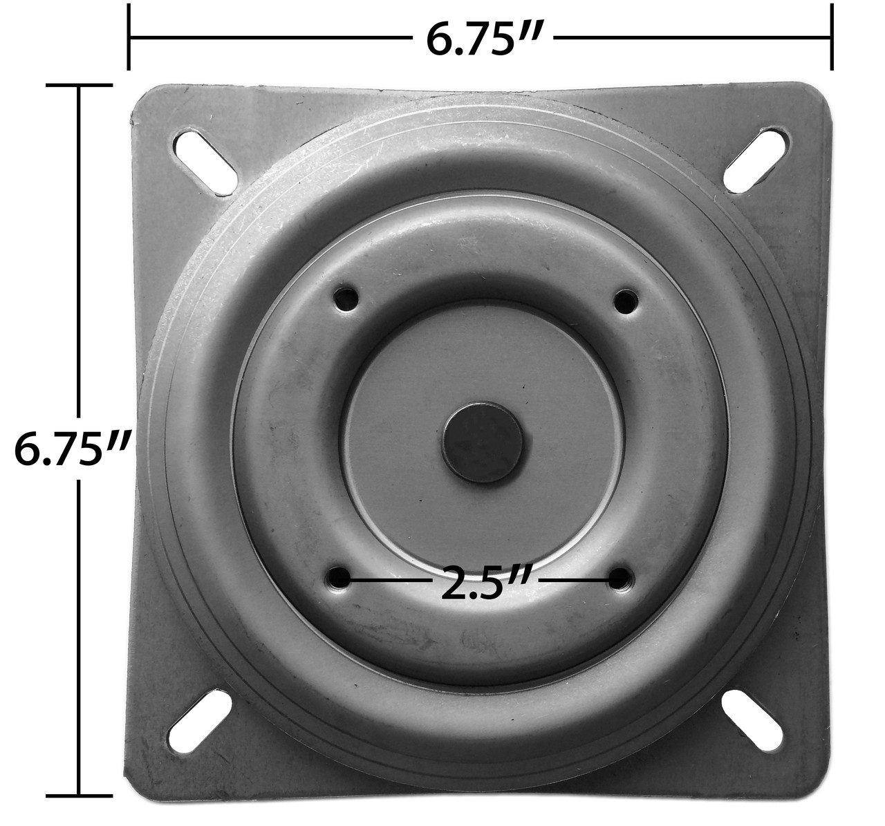 Replacement Bar Stool Swivel 675quot Square w Round  : S5447bottomwdims18871147008246312801280 from www.chairpartsonline.com size 1280 x 1195 jpeg 517kB