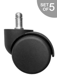 Replacement Hard Floor Casters for Steelcase Rally, Protégé, and Sensor Chair