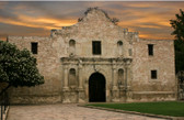 San Antonio - Alamo Sunset