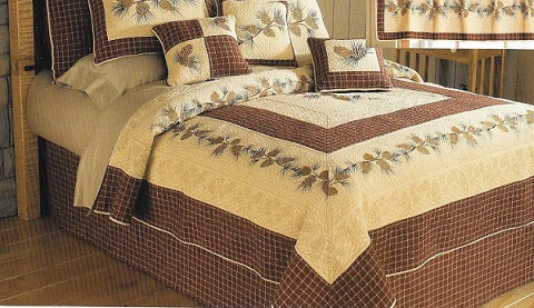 Bedroom Sets, Pillows & Quilts for your Home & Cabin | Adirondack ... : cabin style quilts - Adamdwight.com
