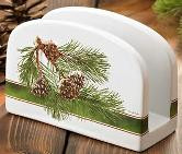 Pine Branch Napkin Holder