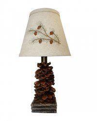 Pine Cone Accent Lamp