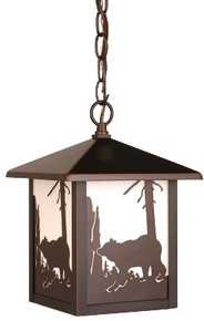 Bozeman Bear Hanging Outdoor Light