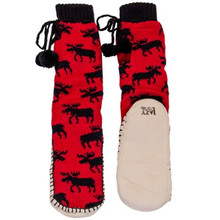 Classic Moose Mukluk Slippers