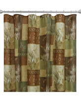 Pine Cone Silhouettes Shower Curtain