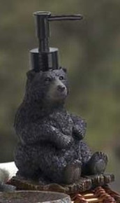 Black Bear Lodge Soap Dispenser