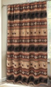 Autumn Trails Collection Shower Curtain