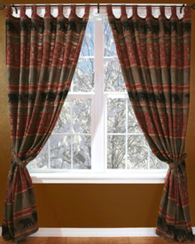Bear Country Drapes and Valance