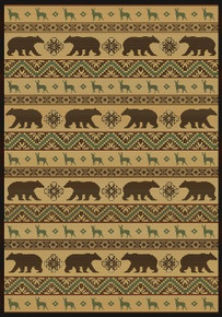 Nordic Bear Rug-Cream - ON SALE