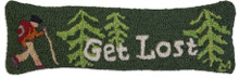 Get Lost Bolster Pillow