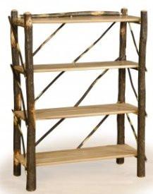 Hickory and solid Oak Bookshelf