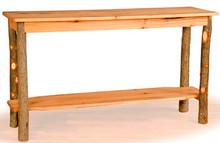 Hickory and Oak Sofa Table