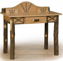 Hickory and Oak Writing Desk