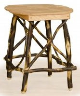 Hickory and Oak End Table