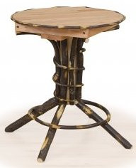 Pedestal End Table