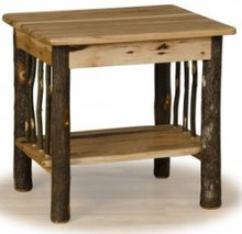 Hickory and Oak 2 tiered End Table