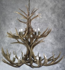 Mule Deer Chandelier - The Chief