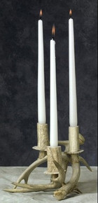 Two Antler Candle Holder