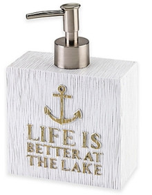 Lake Words Lotion Dispenser
