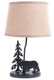 Metal Bear Lamp
