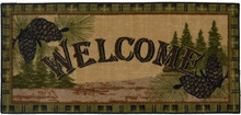 Forest Welcome Rug