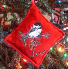 Balsam Chickadee Ornament