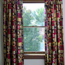 Cabin in the Woods Lined Drapes