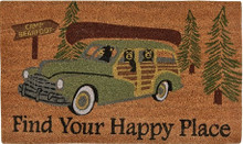 Find Your Happy Place Doormat