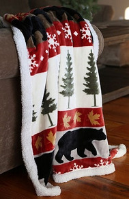 Tall Pine Throw