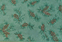Green Pinecone Rug