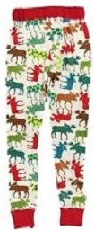 Patterned Moose PJ Leggings