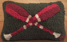 Pillow with paddles