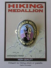 Adirondack Mountains Medallion