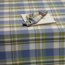 Lake House Plaid Tablecloth