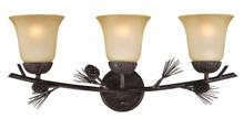 Sierra Triple Light Fixture