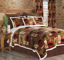 Patchwork Lodge Bedding Set
