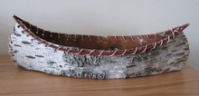 Birch Bark Canoe container