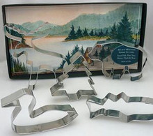 Mountain Lake Cookie Cutters