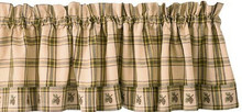 Pine Lodge Valance & Curtains