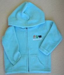 Toddler Fleece, Blue Lagoon
